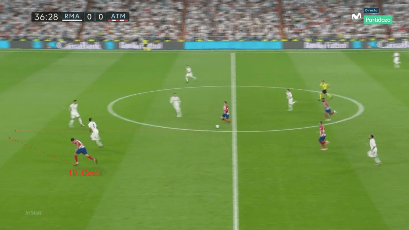 Antoine Griezmann - Atletico Madrid - liga - tactical analysis - analysis - statistics