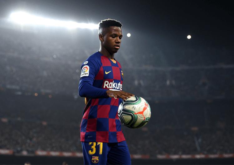 La Liga Player Watch Ansu Fati Football Addict