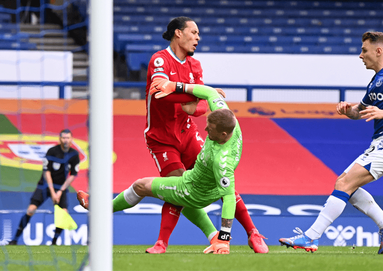 Tactical analysis: Everton 2 Liverpool 2 - The Coaches' Voice
